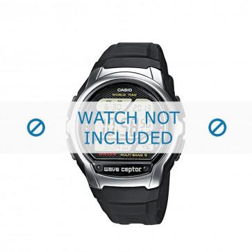 Klockarmband 10243173 Gummi Svart 18mm