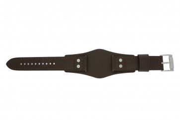 Fossil klockarmband CH-2890 / CH-2891 Läder Brun 22mm
