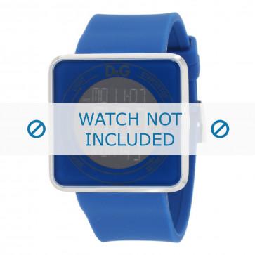 Klockarmband Dolce & Gabbana DW0736 Gummi Blå 28mm