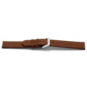 Klockarmband Läder brunt 24mm EX-I401Z