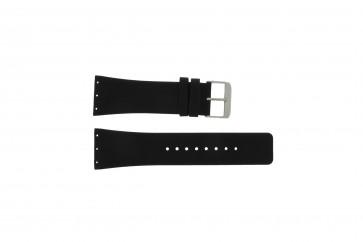 Danish Design klockarmband IQ12Q641 / IQ12Q767 / IQ14Q641 / IQ13Q641 Läder Svart 28mm