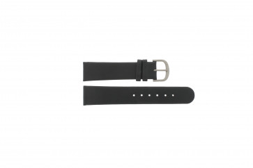 Danish Design klockarmband IQ13Q672 / IQ12Q993 / DDBL20 Läder Svart 20mm