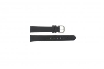 Danish Design klockarmband ADDBL15 Läder Svart 15mm