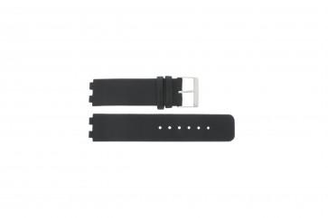 Danish Design klockarmband IQ13Q523 / IQ12Q523 Läder Svart 16mm