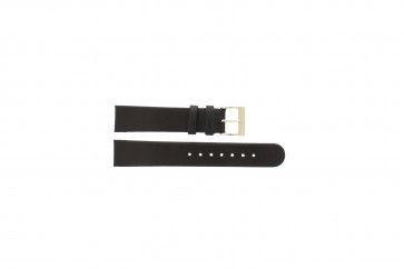 Danish Design Klockarmband svart 18mm