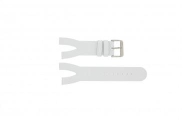 Davis klockarmband BB1401 Läder Vitt 30mm