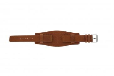 Davis klockarmband B0222 Läder Konjak 18mm