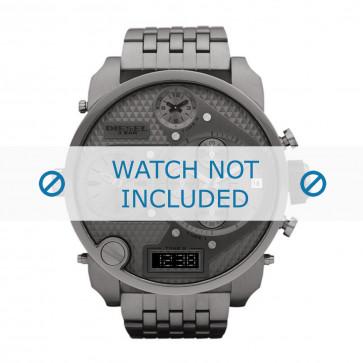 Diesel klockarmband DZ7247 Rostfritt stål Antracitgrå 28mm