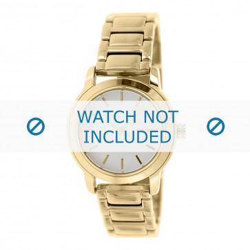 DKNY klockarmband NY2343 Metall Guld 18mm