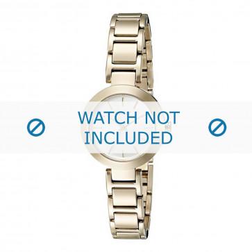 DKNY klockarmband NY2399 Metall Guld 18mm