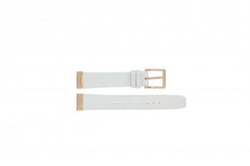Klockarmband DKNY NY8516 Läder Vit 18mm