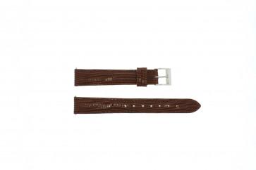 Klockarmband Universell E360 Läder Brun 16mm