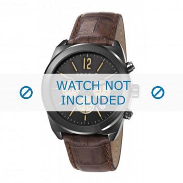 Esprit klockarmband ES107571 / ES107571003-40L Läder Brun + sömmar brun