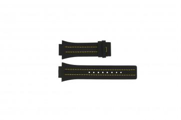 Klockarmband Festina F16184/1 Läder Svart 18mm