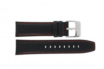 Klockarmband Festina F16585-40 / F16585-7 / F16585-8 Läder Svart 23mm