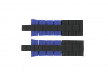 Klockarmband Festina F16659/6 Stål/Silikon Blå 8mm