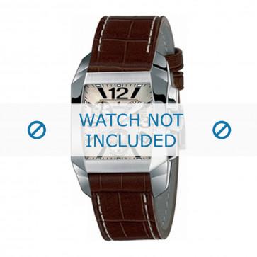 Klockarmband Festina F16135-B Läder Mörk brun 21mm