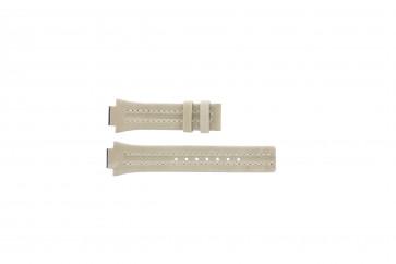 Festina klockarmband F16186/4 Läder Brun 14mm + sömmar vitt