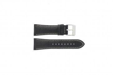 Klockarmband Festina F16235-6 / F16235-F Läder Svart 28mm
