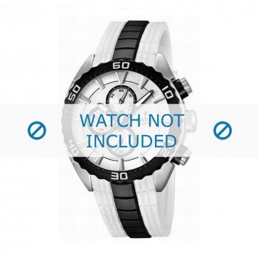 Klockarmband Festina F16664/1 Gummi Vit 23mm