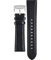 Klockarmband Fossil FS4545 Läder Svart 22mm
