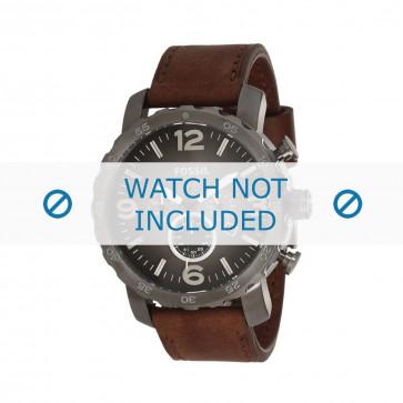 Fossil klockarmband JR-1424 Läder Brun 24mm