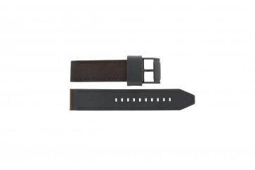 Fossil klockarmband CH2782 / FS4656 / FS5251SET / FTW1163 Läder Brun 22mm + sömmar brun