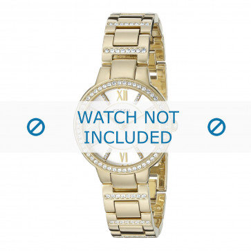 Klockarmband Fossil ES3283 Stål Guldpläterad 8mm