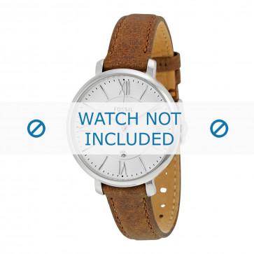 Klockarmband Fossil ES3708 Läder Brun 14mm