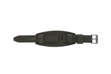 Fossil klockarmband JR1418 Läder Grå 20mm + default sömmar