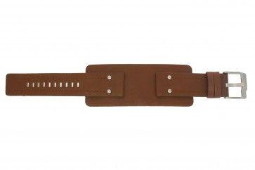 Fossil klockarmband JR-9764 Läder Brun 24mm