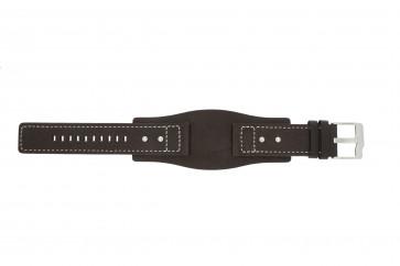 Fossil klockarmband JR9990 Läder Brun 24mm