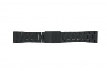 Fossil klockarmband FS4552 / FS4718 / FS4719 / JR1356 Metall Svart 24mm