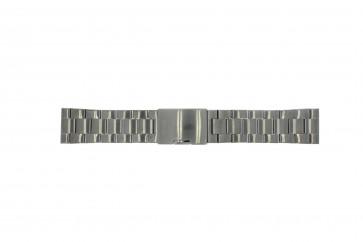 Fossil klockarmband FS4662 / 12XXXX / 25XXXX Metall Antracitgrå 24mm