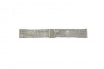 Davis klockarmband B0810 Metall Ilverfärgad 22mm