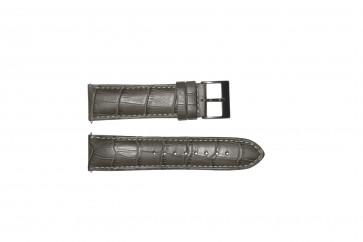 Klockarmband Guess W12089G2 / W0079G1 Läder Grå 22mm