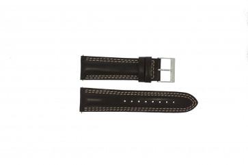 Guess klockarmband W95046G2 Läder Brun 24mm