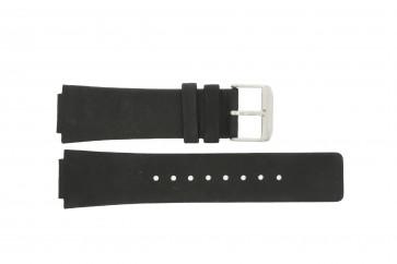 Danish Design klockarmband IQ13Q884 Läder Svart 16mm