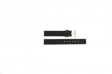 Klockarmband Danish Design DD16 / IV12Q937 Läder Svart 16mm