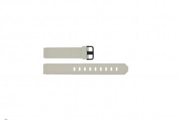 Klockarmband Jacob Jensen 700 / 754 Gummi Vit 17mm