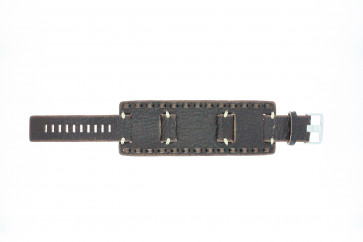 Fossil klockarmband JR-8985 Läder Brun 22mm