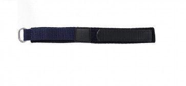 Kardborreband Klockarmband mörkblått 14mm