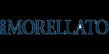 Morellato klockarmband Basket U3151237019CR24 / PMU019BASKET24 Mjukt läder Svart 24mm + default sömmar