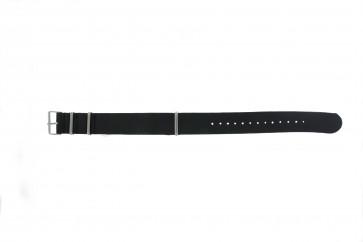 Klockarmband Läder 20mm Svart /  /  RO 4