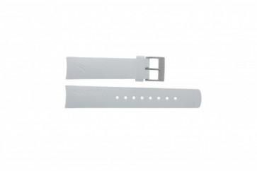 Nautica klockarmband A31504G / A30005G / A16586G Gummi Vitt 22mm