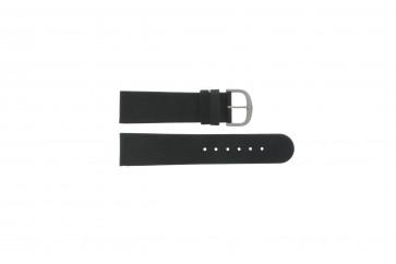 Danish Design klockarmband IQ13Q586 / IV13Q843 Läder Svart 22mm