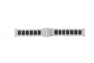 Chroom Klockarmband ksom passar en klocka med måtten 10 t/m 14mm EC611