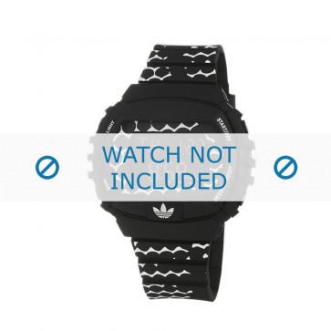 Adidas klockarmband ADH6118 Gummi Svart 22mm