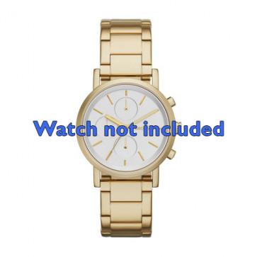 DKNY klockarmband NY-2275 Stål Guld (Rosé) 20mm