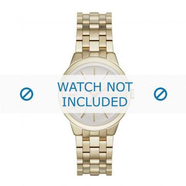 DKNY klockarmband NY-2382 Stål Guld (Doublé) 12mm